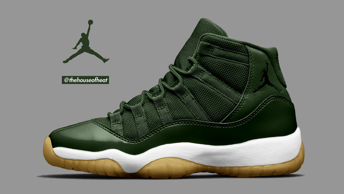 "Today's Concept : Air Jordan 11 ""Olive"""