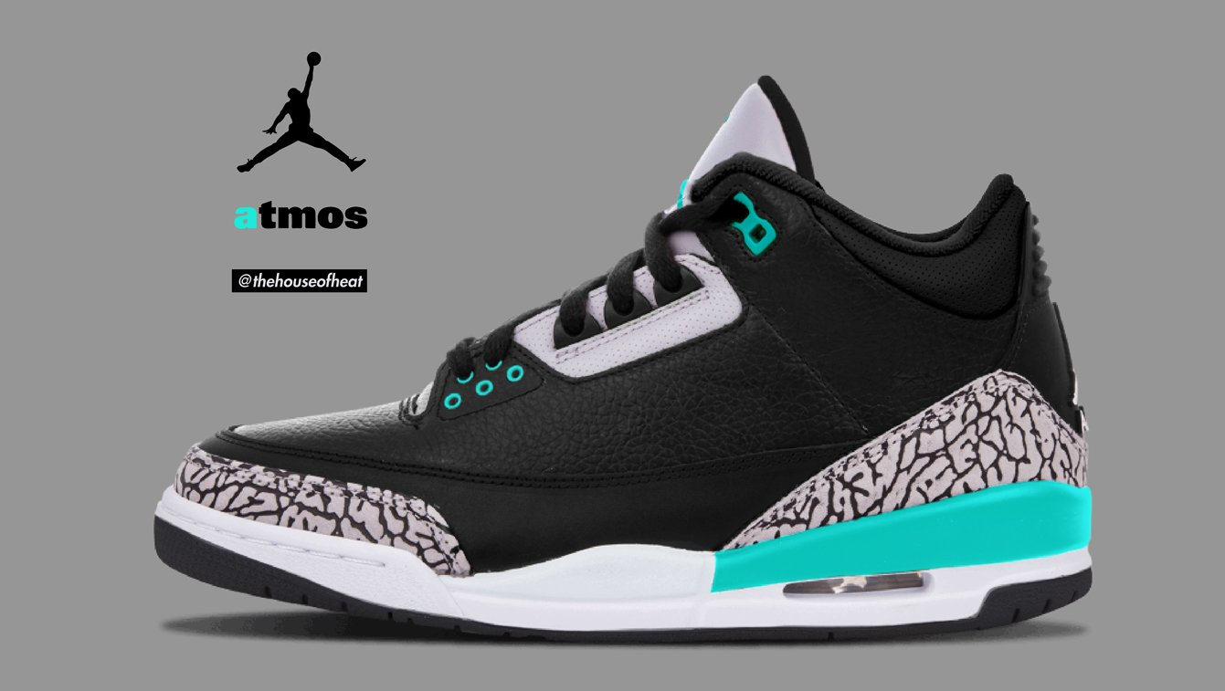 Isn't it about time we got this Atmos x Jordan 3?