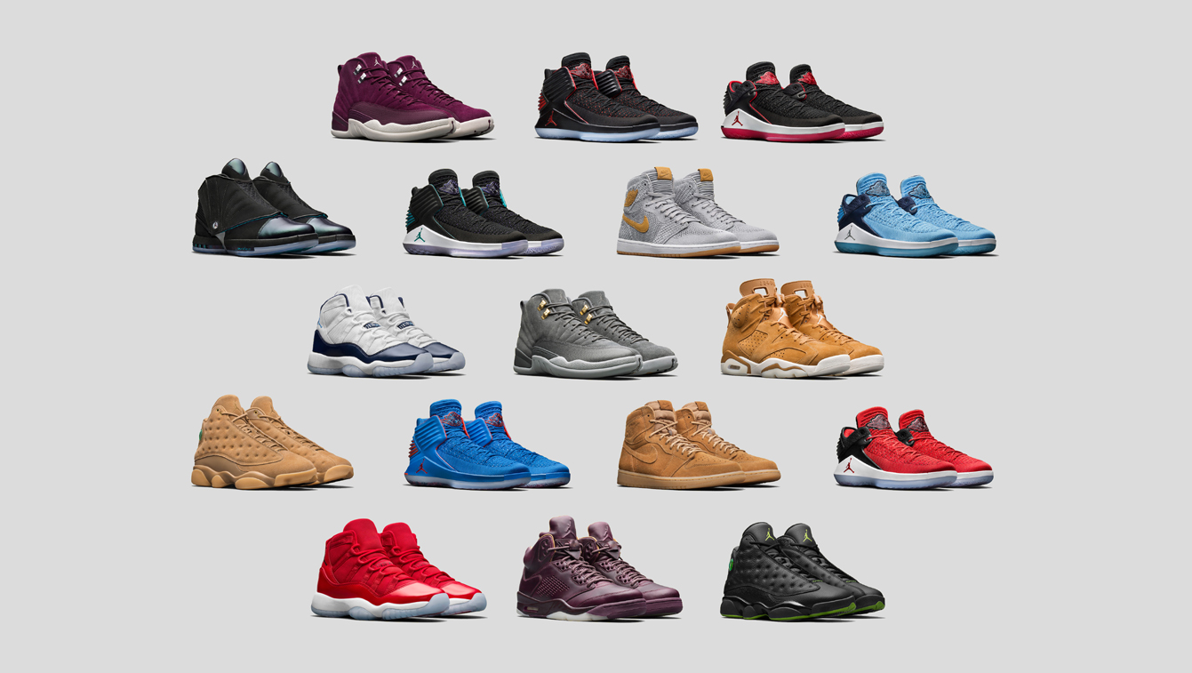 A recap of Jordan Brand's Holiday 2017 unveiling