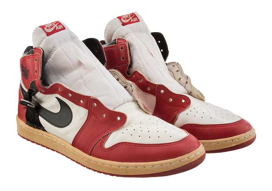 This rare game-worn Air Jordan is up at auction