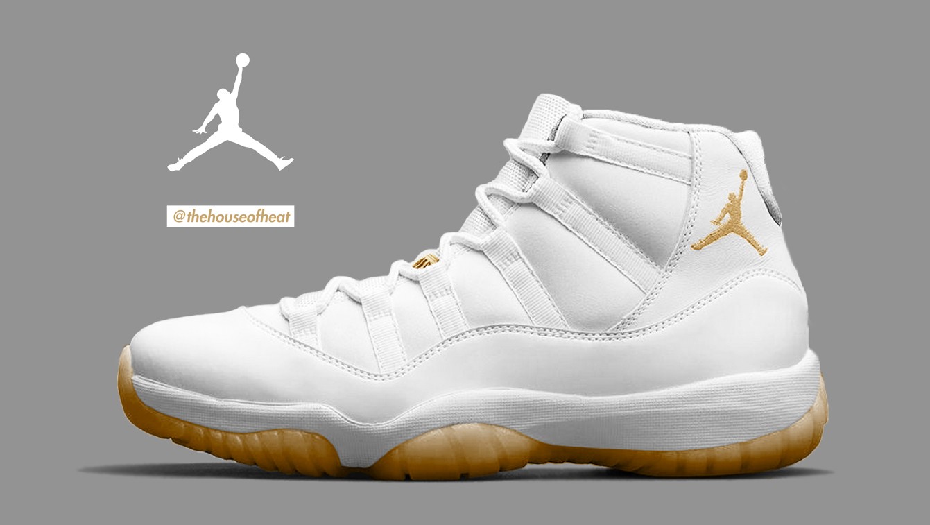 "Today's Concept : Air Jordan 11 ""White/Wheat-Gum"""