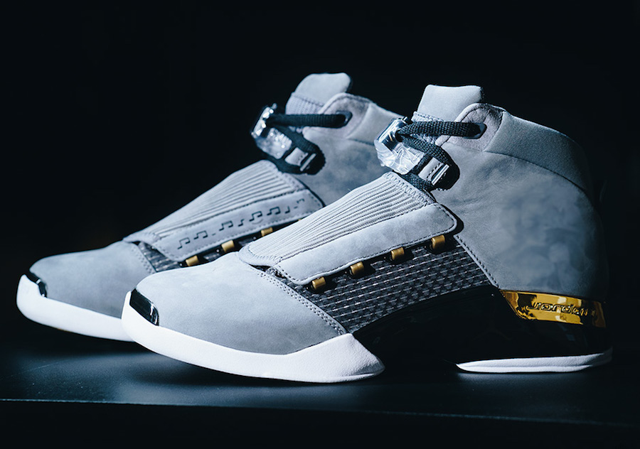 The Trophy Room x Air Jordan 17 drops this weekend