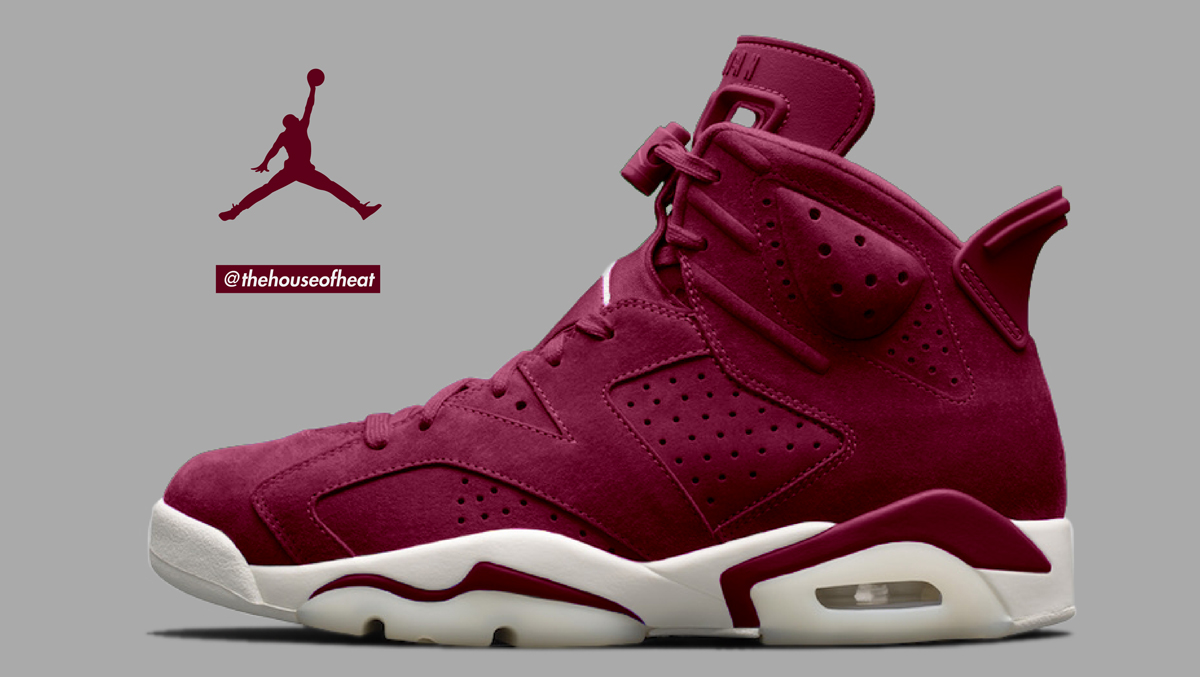 "Today's Concept : Air Jordan 6 ""Bordeaux"""