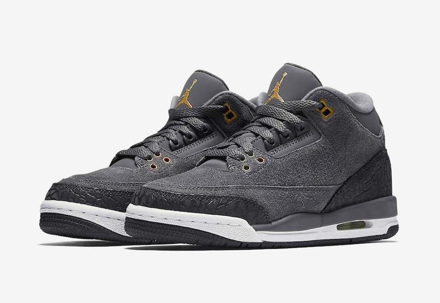 "The ""Anthracite"" Jordan 3 releases this Saturday"