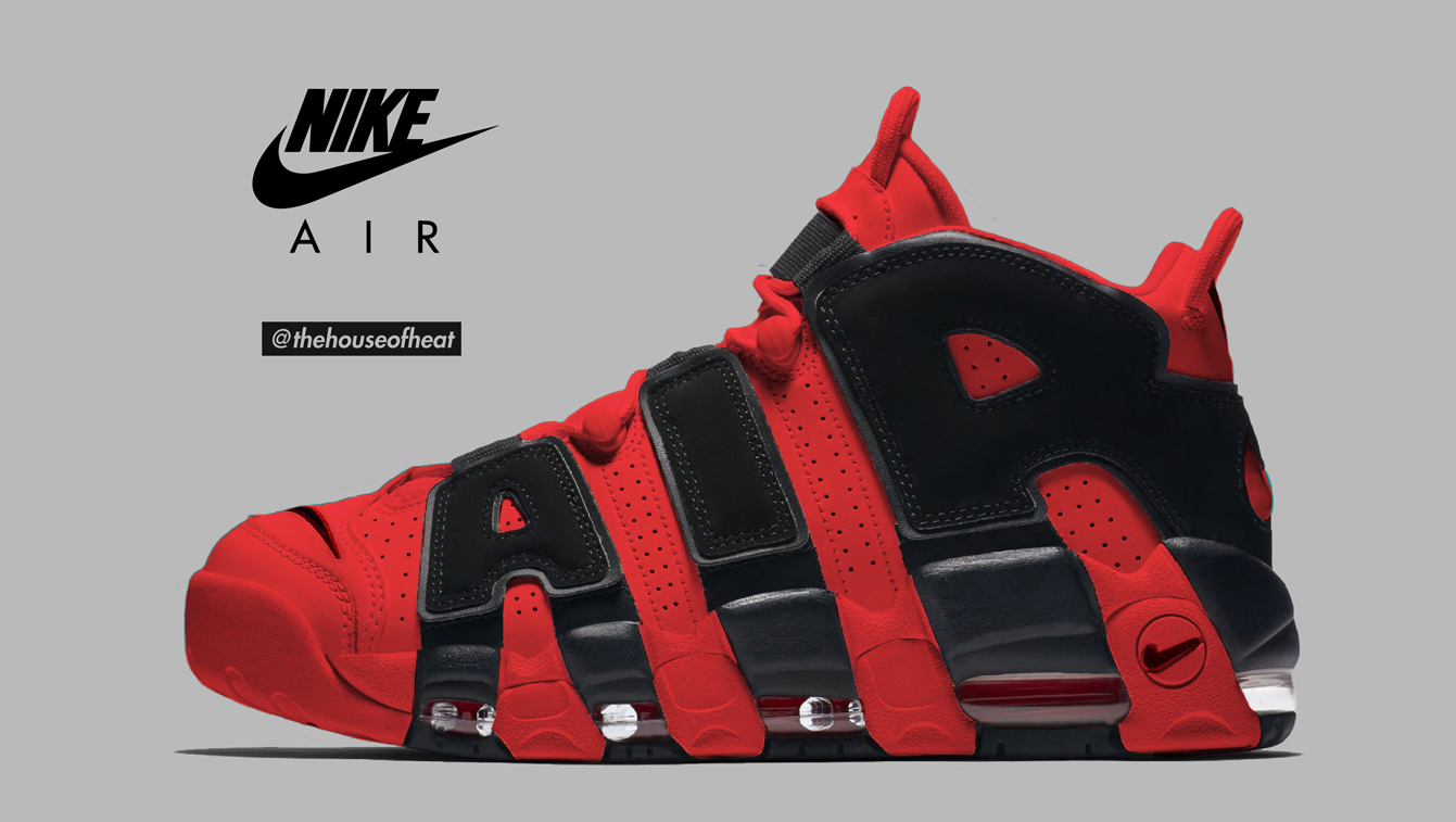 "Today's Concept : Nike Air More Uptempo ""Bulls Alternate"""