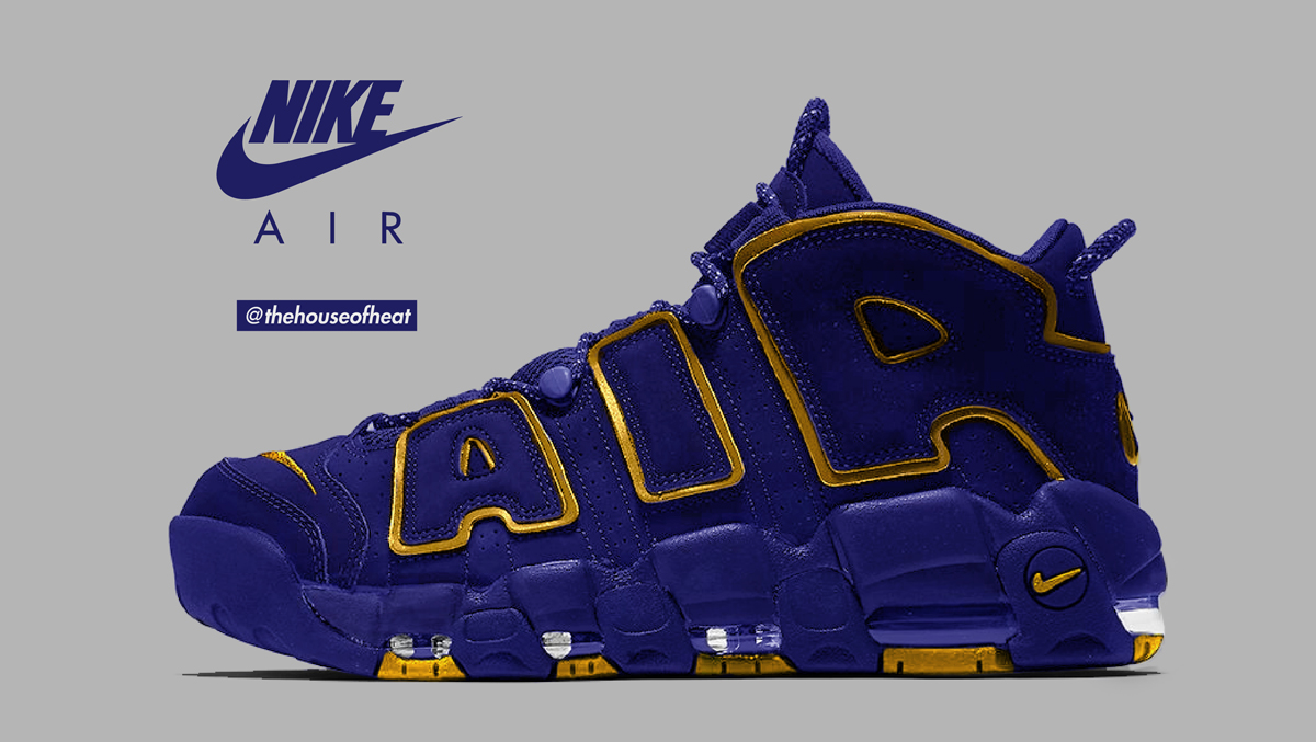 "Today's Concept : Nike Air More Uptempo ""Royal"""