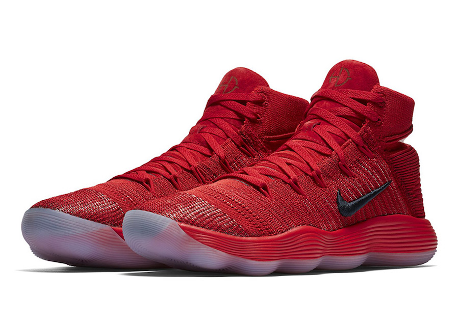 sports shoes 6108f c87ef Red Flyknit hits the Hyperdunk 2017