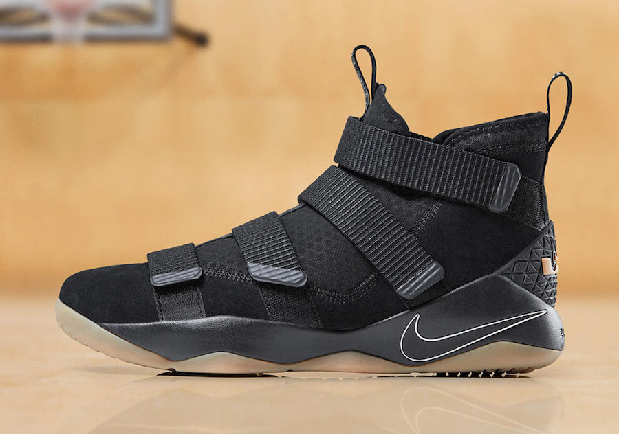 cheap for discount 9a32f a0f5b This Black and Gum LeBron Soldier 11 is available now ...