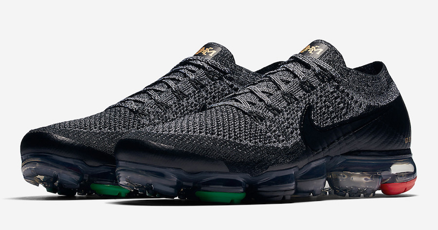 "An official look at the Nike VaporMax ""BHM"""