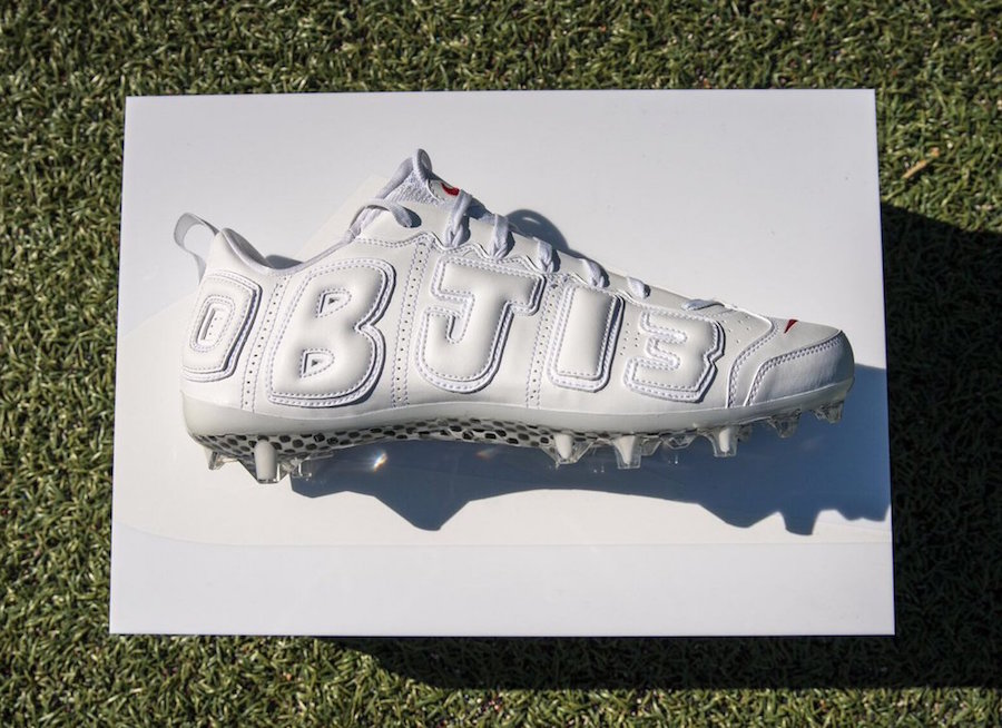 OBJ's got some more Uptempo-inspired cleats