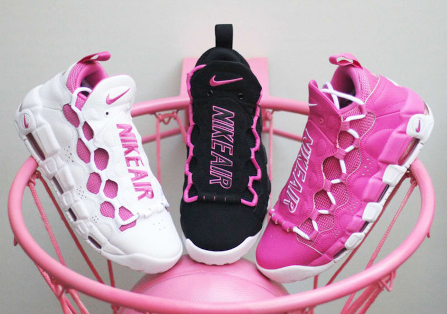 The Nike Air More Money is back to raise More Money to fight Breast Cancer