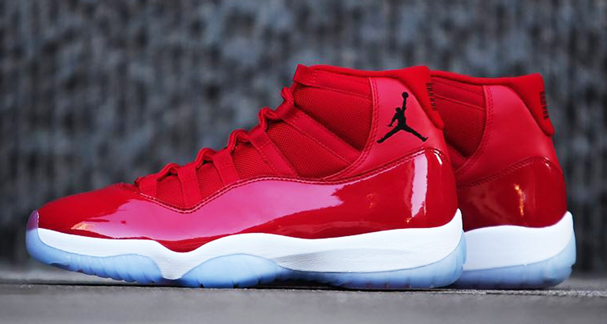 The Red Jordan 11 releases next weekend