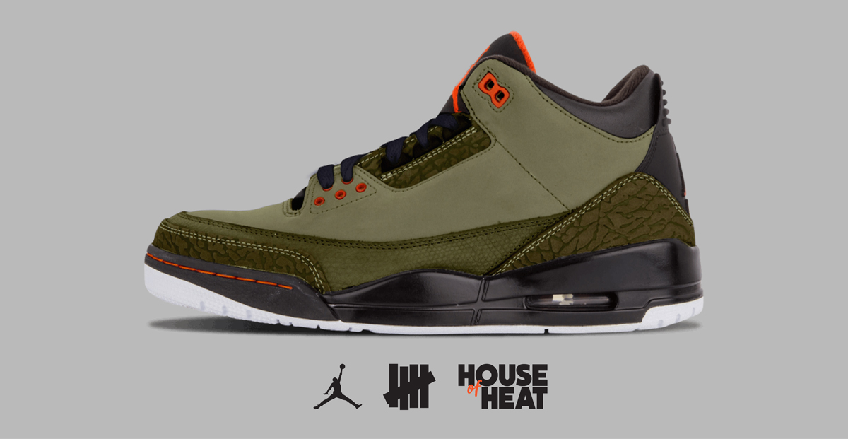 "The Concept Lab : Air Jordan 3 ""Undefeated"""