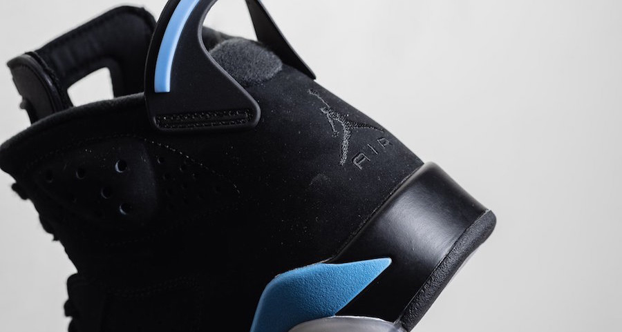 "The ""UNC"" Air Jordan 6 drops this weekend"