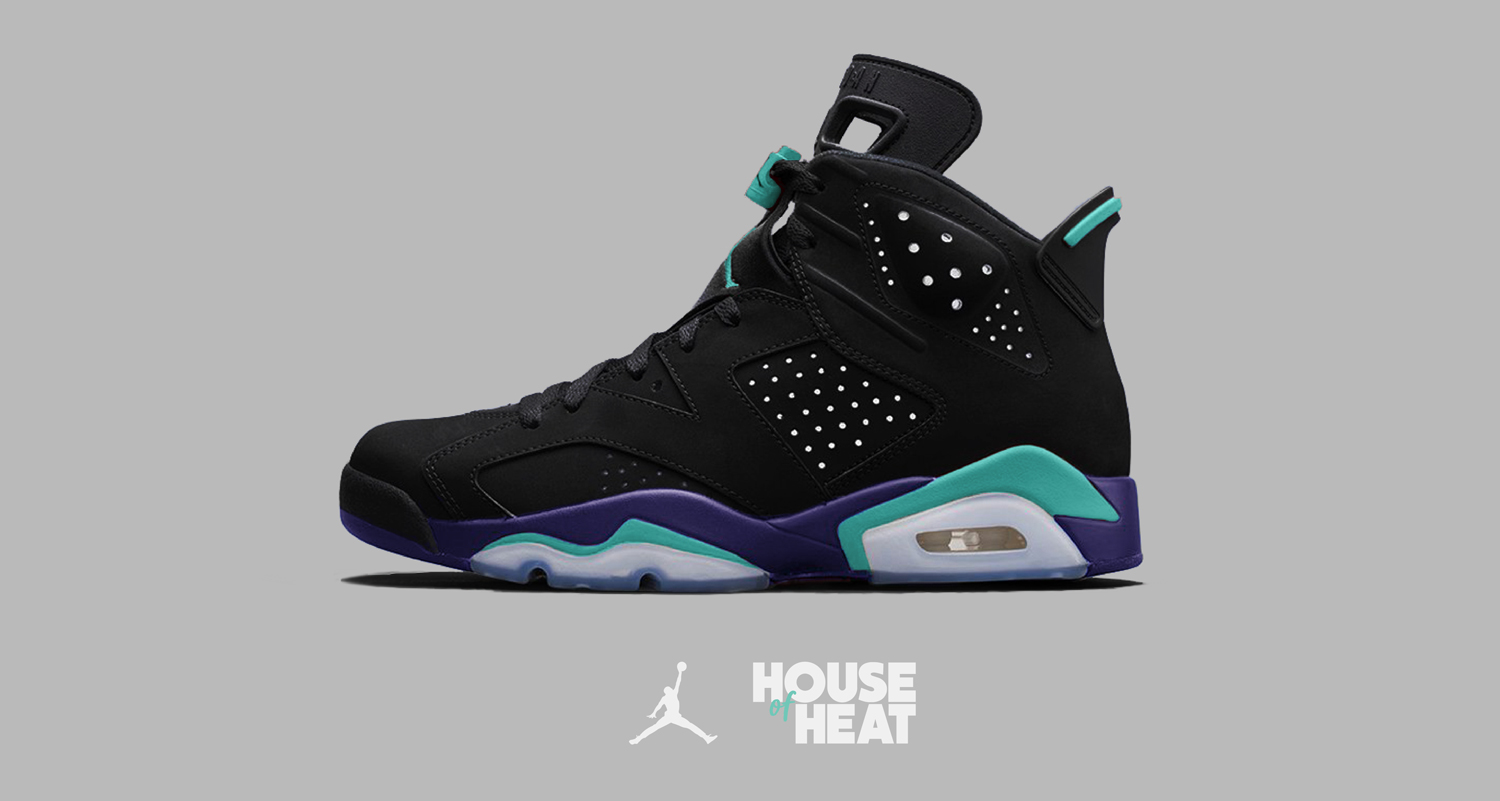 "The Concept Lab : Air Jordan 6 ""Black Grape"""