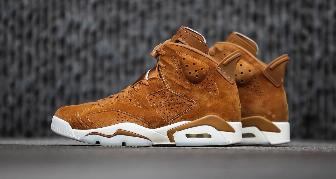 "online retailer b30d3 0518f A fresh look at the Air Jordan 6 ""Wheat"""