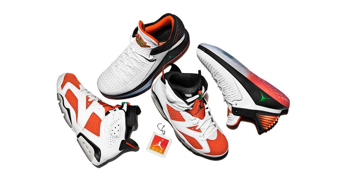 "Jordan unveil the Gatorade ""Like Mike"" pack"