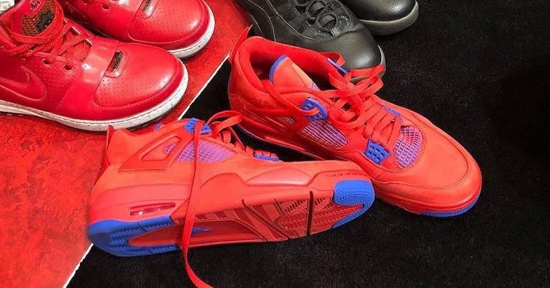 PJ gets another peep at more of CP3's Jordan PE's