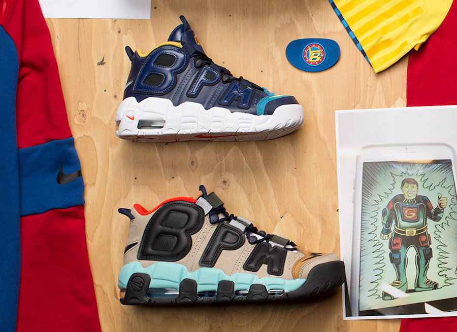 Nike unveil two of Brody Miller's sample DB Uptempos