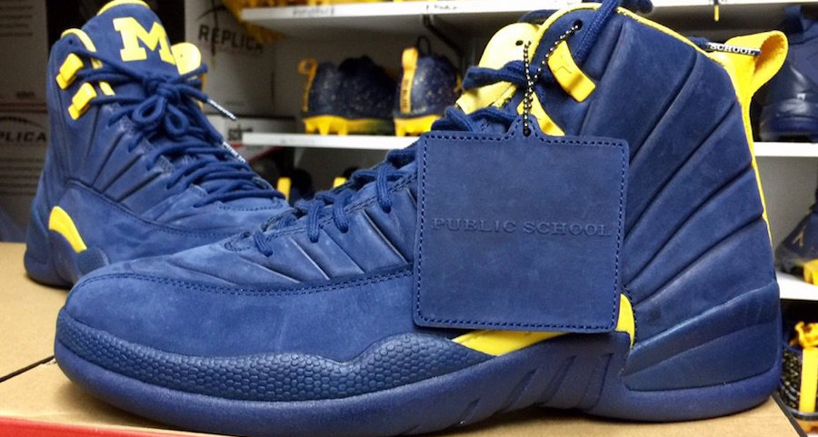 PSNY have teamed up with Michigan for their latest Jordan PE