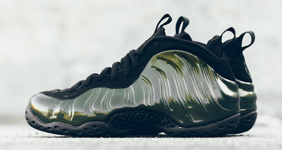 9d58569f721b1 Take another look at the Legion Green Foamposite One - HOUSE OF HEAT ...