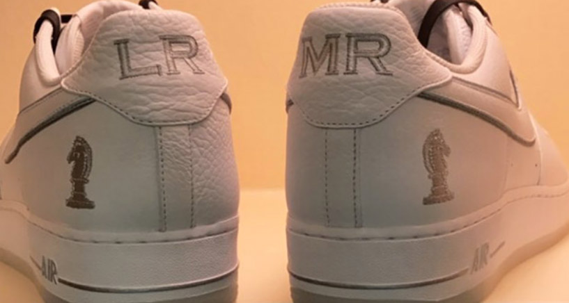 LeBron previews an AF1 that's dedicated to his crew