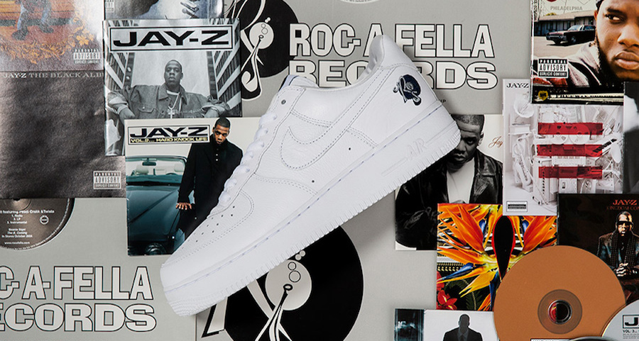 The Roc-a-fella x Air Force 1 releases tomorrow