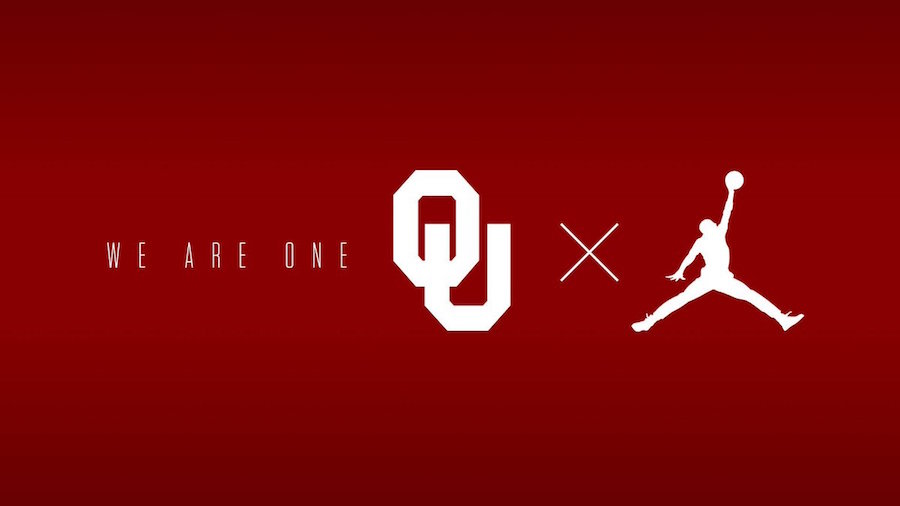 Jordan announce a partnership with the Oklahoma Sooners