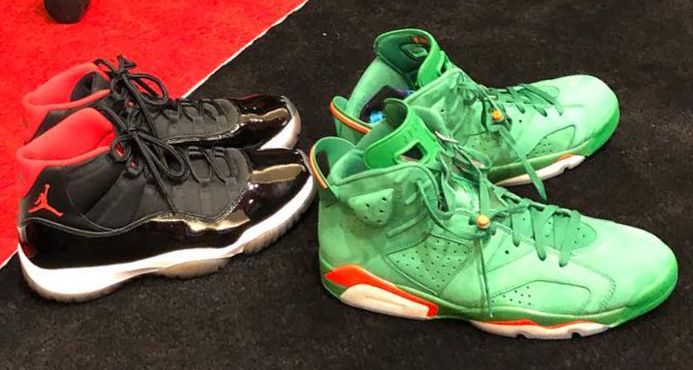 PJ Tucker shares some of CP3's Jordan heat