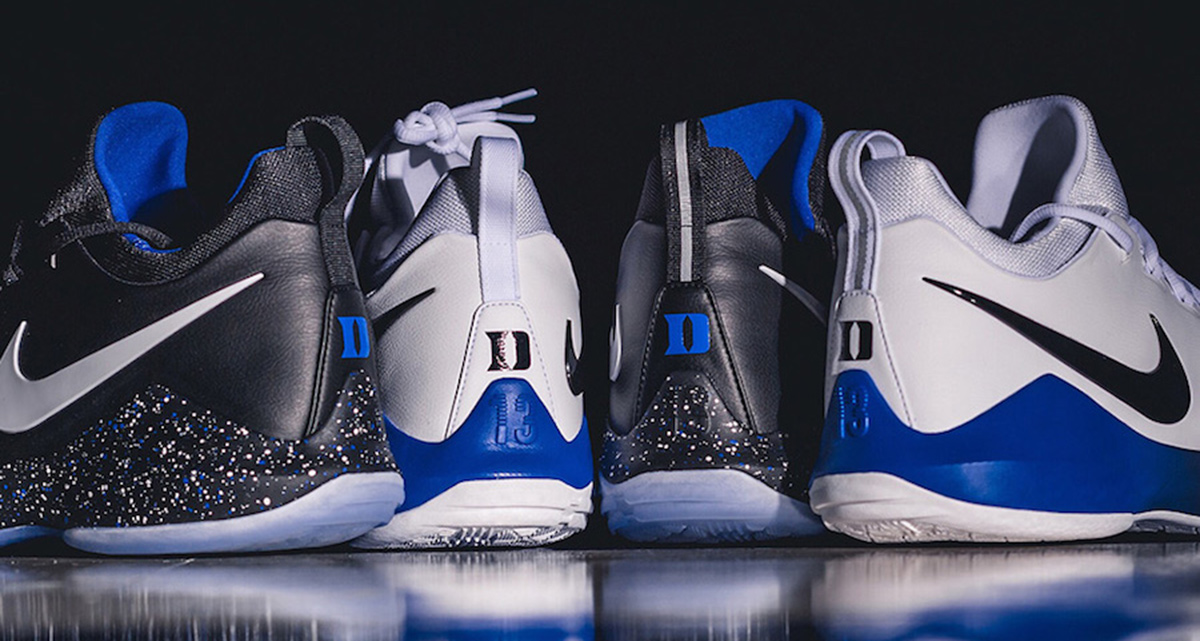 Duke unveil their home and away Nike PG 1 PE s - HOUSE OF HEAT ... 62a7039a5