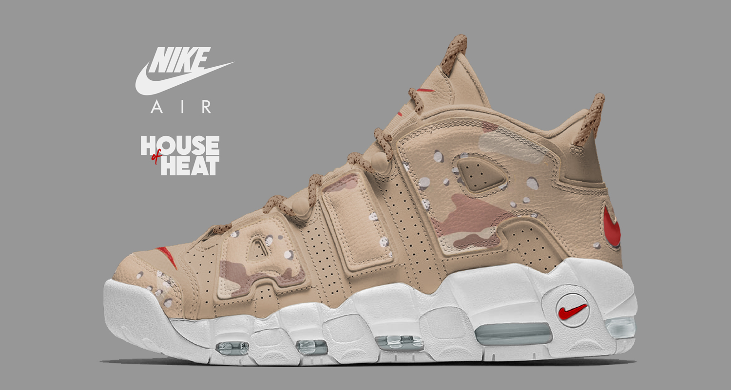"The Concept Lab : Nike Air More Uptempo ""Desert Camo"""
