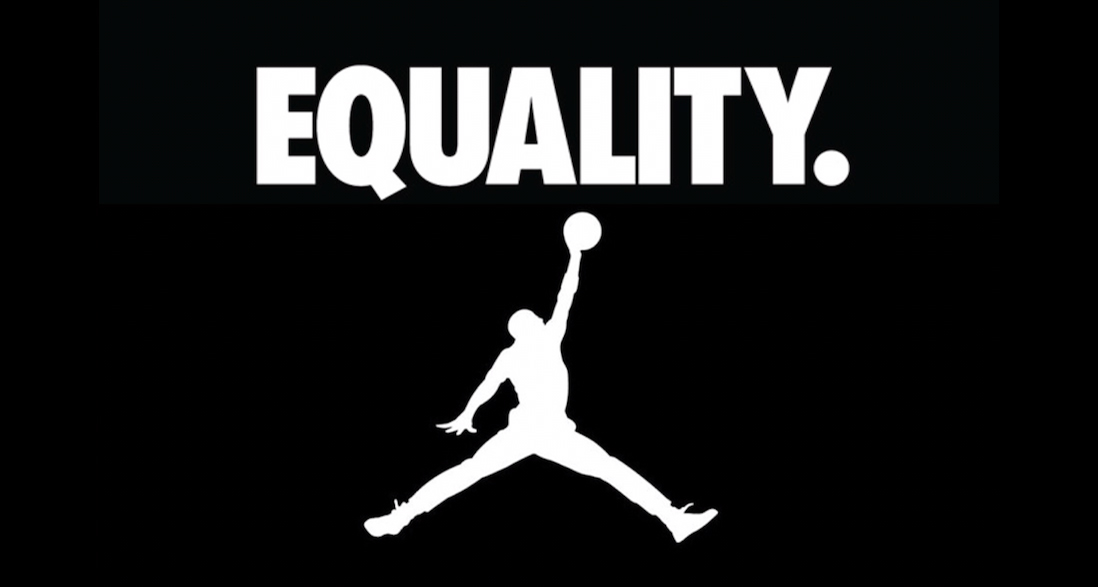 We're getting an Air Jordan 1 for equality