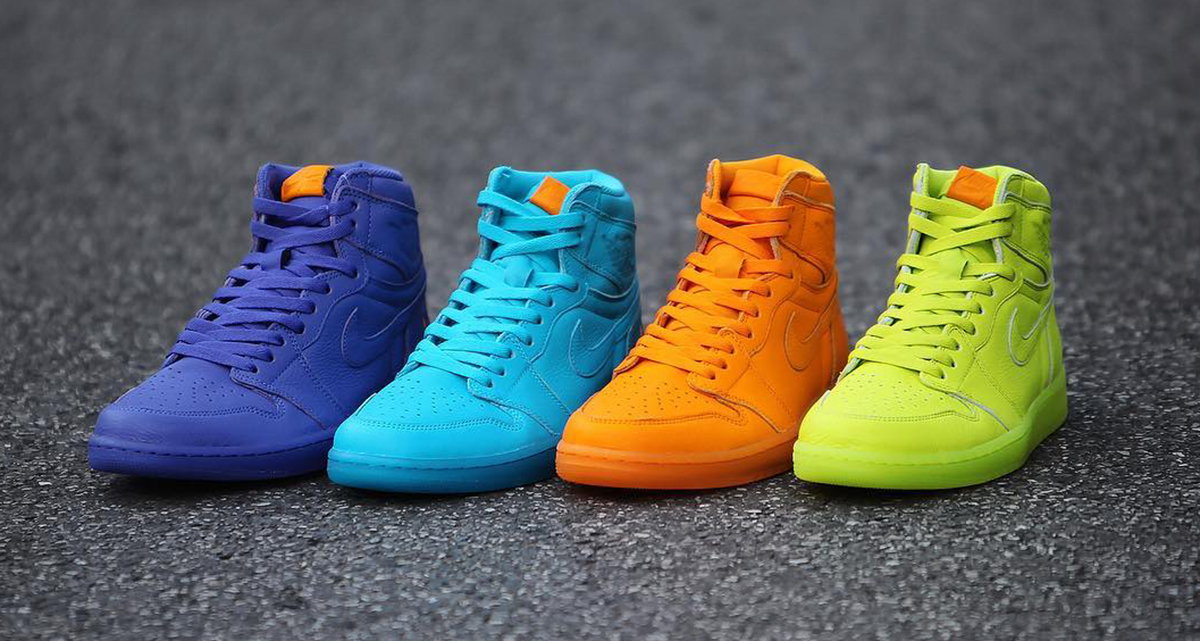 The Air Jordan 1 Gatorade collection releases today