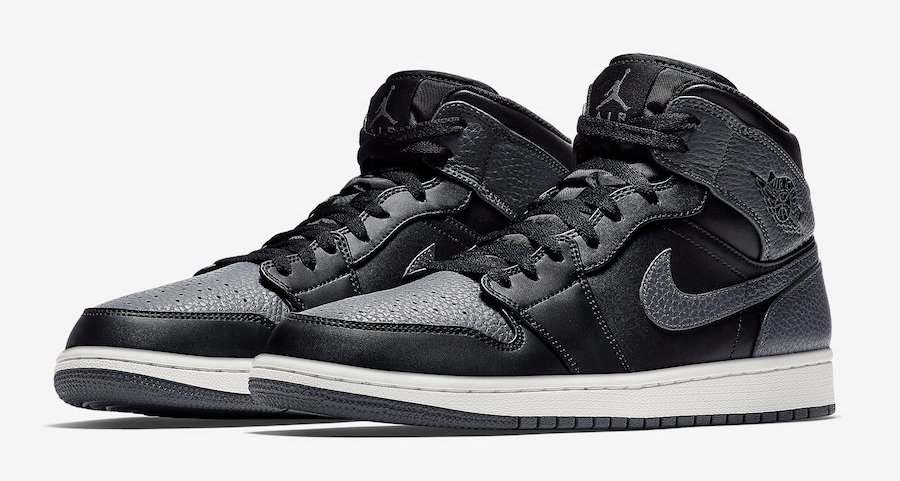 Tumbled leather hits the Air Jordan 1 Mid