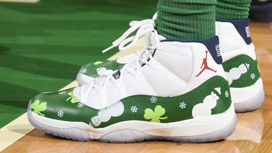 Check out Marcus Morris' Christmas customs