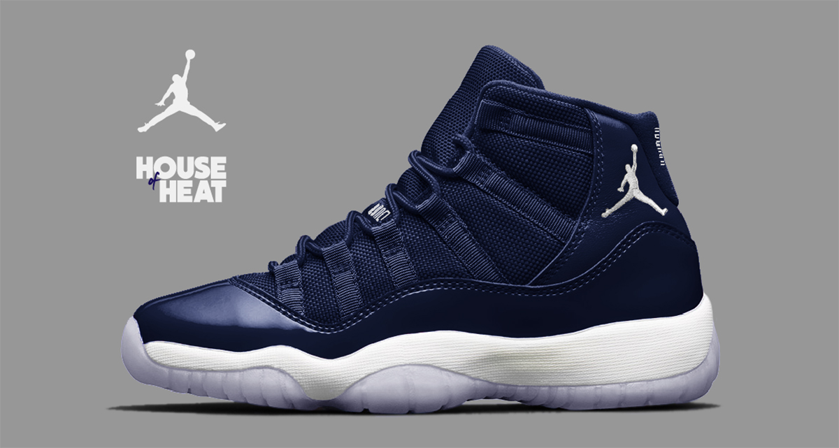 "The Concept Lab :  Air Jordan 11 ""Midnight Navy"""