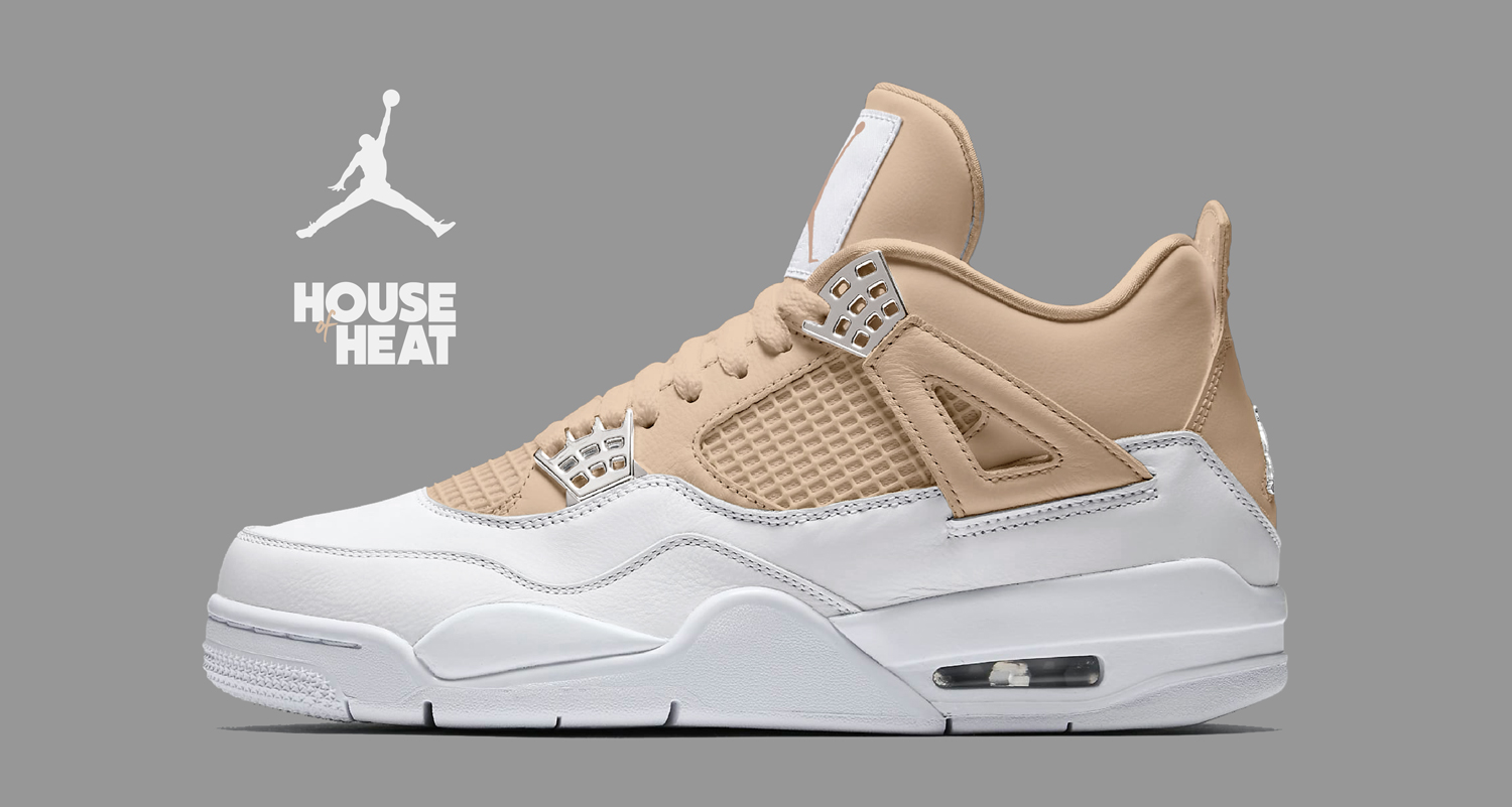 "The Concept Lab : Air Jordan 4 ""Iced Latté"""