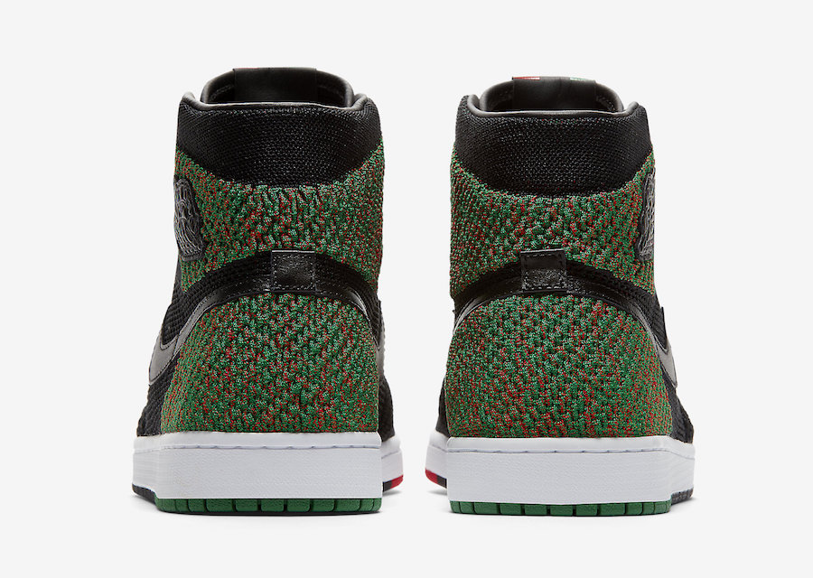 2e3dcddad4982 UPDATE 12.26.17. Grab another look at next year s BHM Air Jordan 1 Flyknit  ...