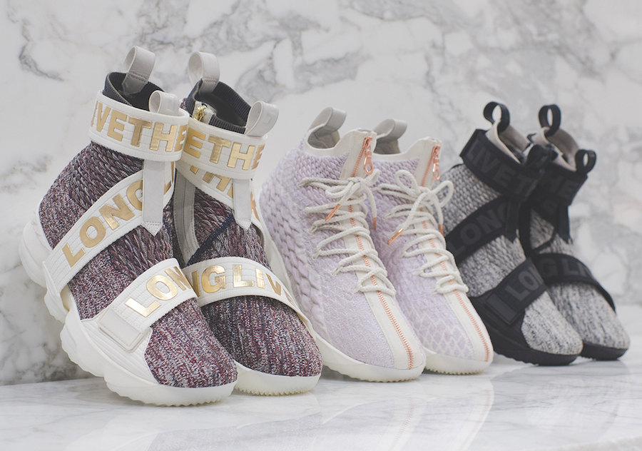 The KITH x LeBron 15 pack releases this weekend
