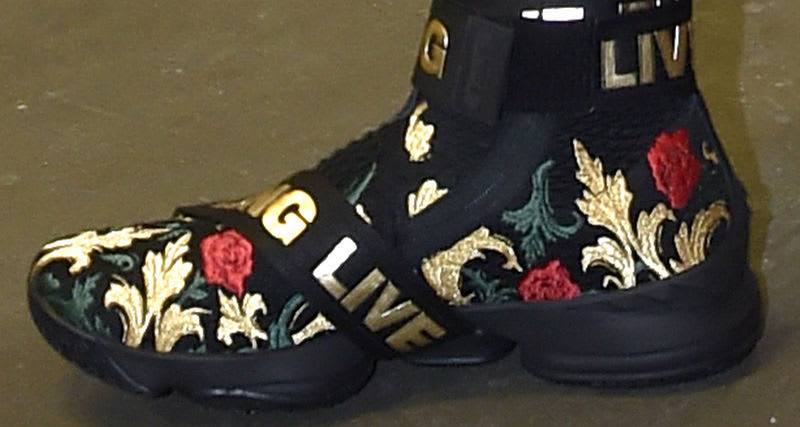 "online store 651a7 53a0e A second ""Floral"" LeBron 15 surfaces"