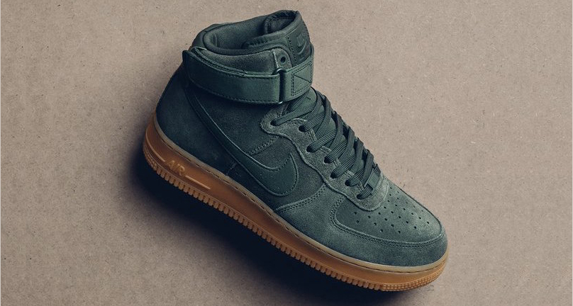 """This """"Vintage Green"""" Air Force 1 High is available now"""