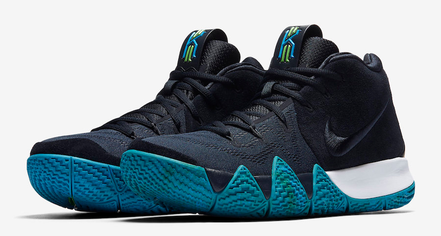 "The Nike Kyrie 4 ""Obsidian"" gets a Release Date"