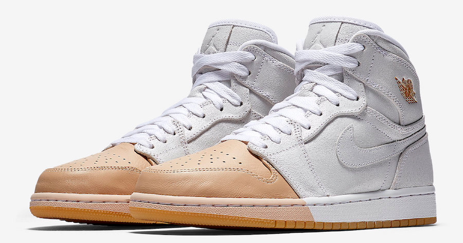 This Air Jordan 1 comes dipped in butter
