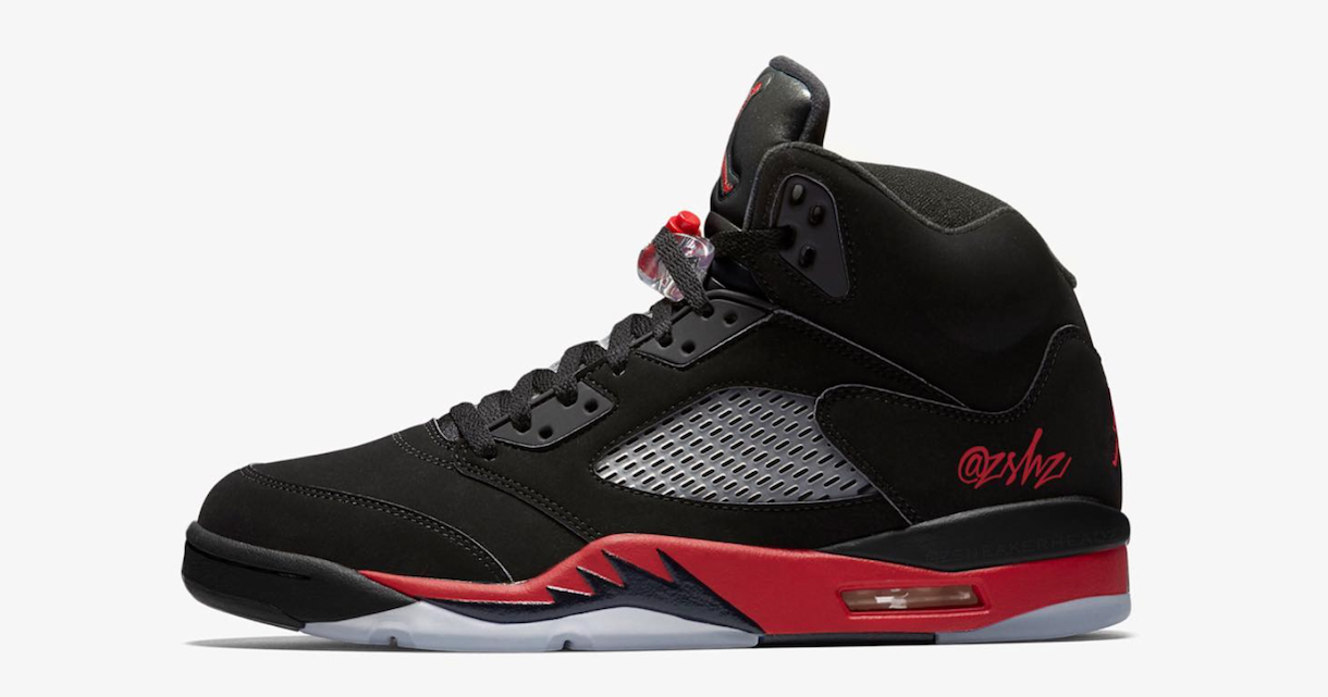 "There's a ""Bred"" Air Jordan 5 on the way"