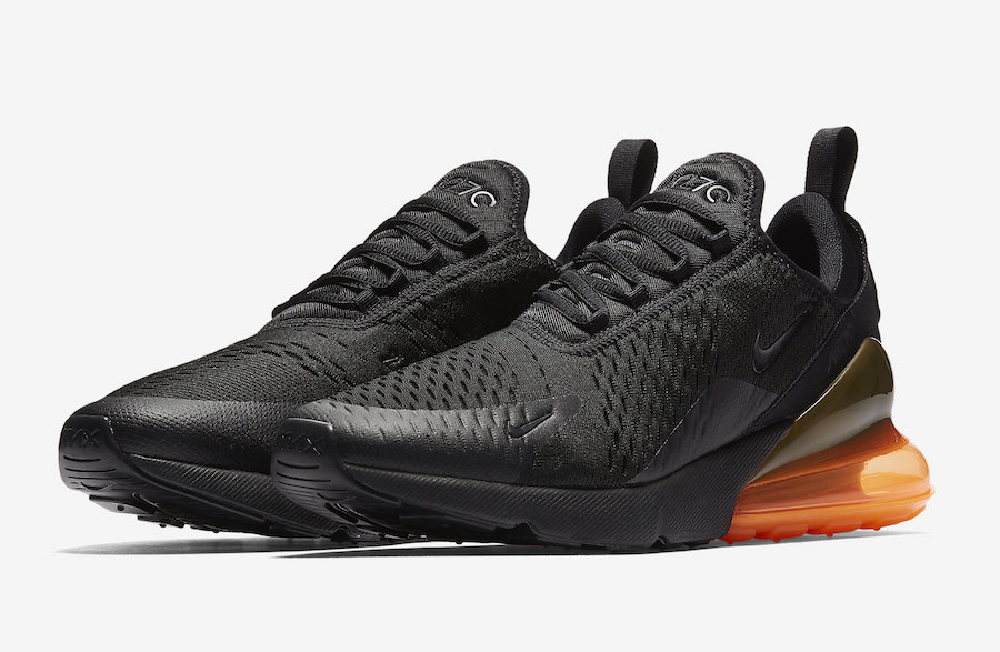 buy online 16b92 16f4f official store nike lab air max 270 white black orange a4c06 e0da8