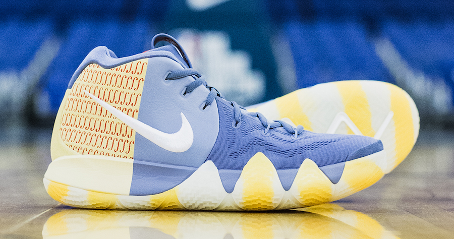 "Kyrie's ""London"" PE is releasing tomorrow"