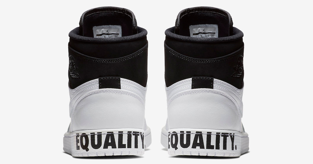 "The ""Equality"" Air Jordan 1 drops on MLK Day"