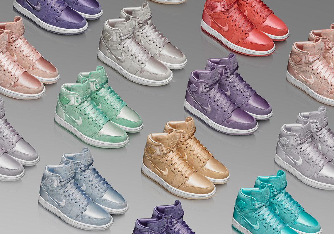 "Jordan Brand officially unveil all ten of the ""Season of Her"" Air Jordan 1's"