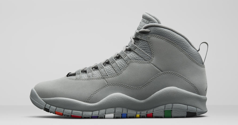 "Official images : Air Jordan 10 ""Cool Grey"""