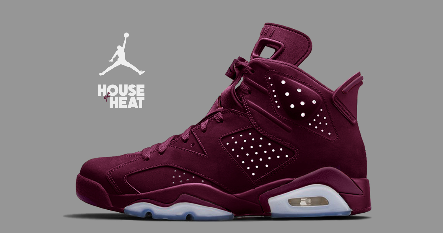 "The Concept Lab : Air Jordan 6 ""Maroon 2.0"""
